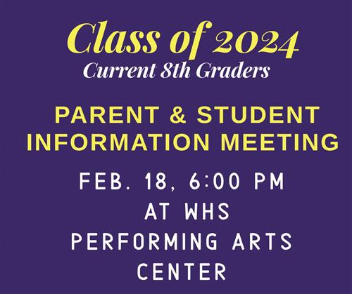 Class of 2024 Meeting