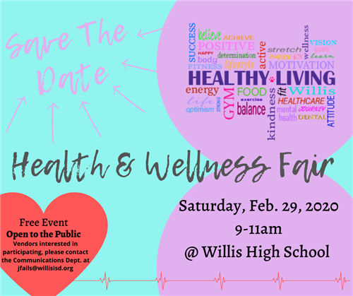 Wellness Fair graphic