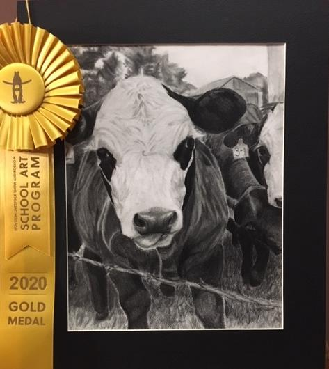 Willis Students Win Big in Rodeo Art Contest