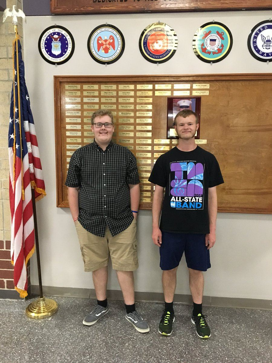 Willis High School Seniors named Commended Students in the National Merit Scholarship Program