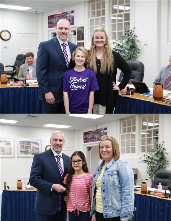 March Students of the Month Recognized